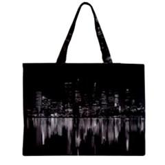 City Panorama Medium Zipper Tote Bag by Valentinaart