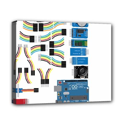Arduino Arduino Uno Electronic Canvas 10  X 8  by Nexatart