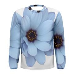 Daisy Flower Floral Plant Summer Men s Long Sleeve Tee by Nexatart