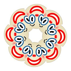 Clown Funny Make Up Whatsapp Hook Handle Umbrellas (small) by Nexatart