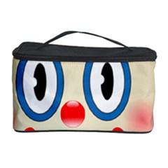 Clown Funny Make Up Whatsapp Cosmetic Storage Case by Nexatart