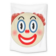 Clown Funny Make Up Whatsapp Medium Tapestry by Nexatart