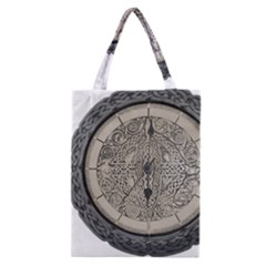 Clock Celtic Knot Time Celtic Knot Classic Tote Bag by Nexatart