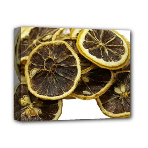 Lemon Dried Fruit Orange Isolated Deluxe Canvas 14  X 11  by Nexatart