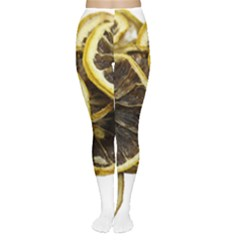 Lemon Dried Fruit Orange Isolated Women s Tights by Nexatart