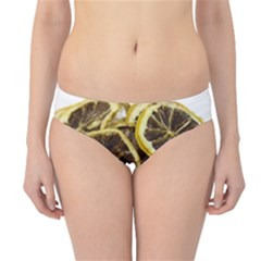 Lemon Dried Fruit Orange Isolated Hipster Bikini Bottoms by Nexatart
