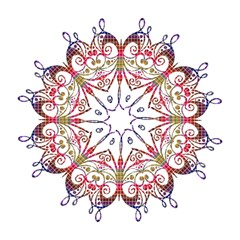 Butterfly Nature Abstract Beautiful Golf Umbrellas by Nexatart
