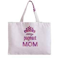 Crazy Pageant Mom Medium Tote Bag by Valentinaart