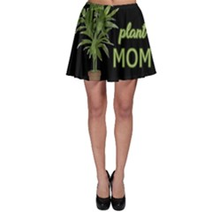 Plant mom Skater Skirt by Valentinaart