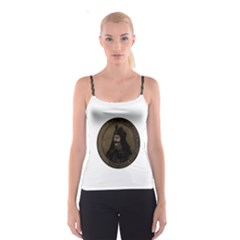 Count Vlad Dracula Spaghetti Strap Top by Valentinaart