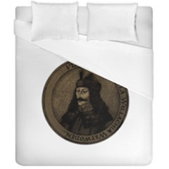Count Vlad Dracula Duvet Cover Double Side (california King Size) by Valentinaart