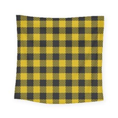 Plaid Pattern Square Tapestry (small) by ValentinaDesign