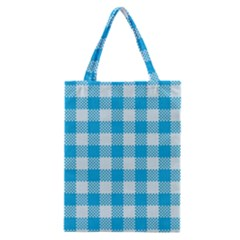 Plaid Pattern Classic Tote Bag by ValentinaDesign