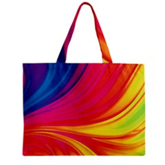 Colors Zipper Mini Tote Bag by ValentinaDesign