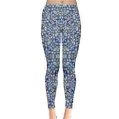 Geometric Luxury Ornate Leggings  by dflcprintsclothing