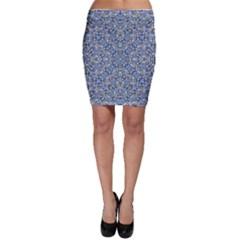 Geometric Luxury Ornate Bodycon Skirt by dflcprintsclothing