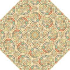 Complex Geometric Pattern Golf Umbrellas by linceazul