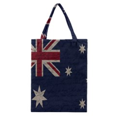 Vintage Australian Flag Classic Tote Bag by ValentinaDesign