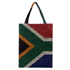 Vintage Flag   South Africa Classic Tote Bag by ValentinaDesign