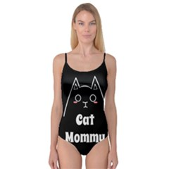 Love My Cat Mommy Camisole Leotard  by Catifornia