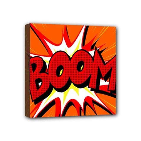 Boom Sale Orange Mini Canvas 4  X 4  by Mariart
