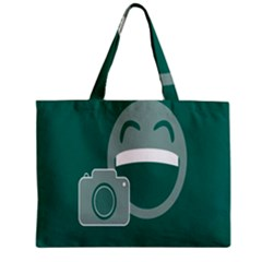 Laughs Funny Photo Contest Smile Face Mask Zipper Mini Tote Bag by Mariart