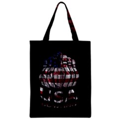 Usa Bowling  Zipper Classic Tote Bag by Valentinaart