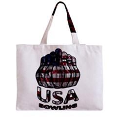 Usa Bowling  Medium Tote Bag by Valentinaart