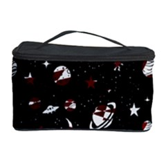 Space Pattern Cosmetic Storage Case by Valentinaart