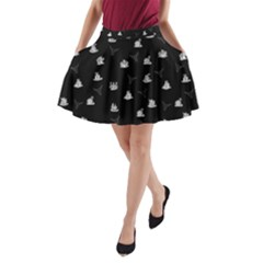 Cactus pattern A-Line Pocket Skirt by Valentinaart