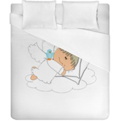 Sweet Dreams Angel Baby Cartoon Duvet Cover (california King Size) by Nexatart