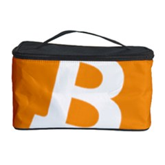 Bitcoin Cryptocurrency Currency Cosmetic Storage Case by Nexatart