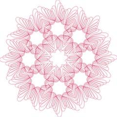Spirograph Pattern Drawing Design Folding Umbrellas by Nexatart