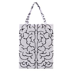 Brain Mind Gray Matter Thought Classic Tote Bag by Nexatart