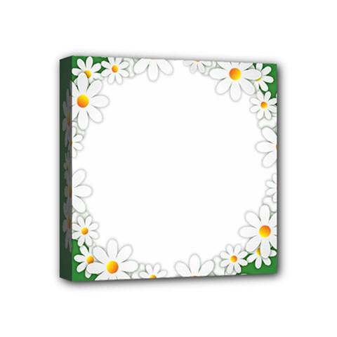 Photo Frame Love Holiday Mini Canvas 4  X 4  by Nexatart