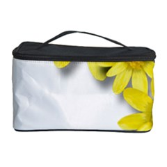 Flowers Spring Yellow Spring Onion Cosmetic Storage Case by Nexatart