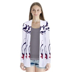 Scroll Border Swirls Abstract Cardigans by Nexatart