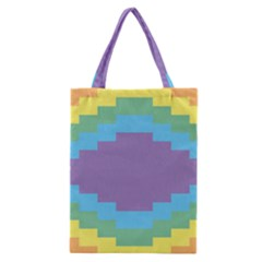 Carmigender Flags Rainbow Classic Tote Bag by Mariart