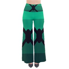 Fascigender Flags Line Green Black Hole Polka Pants by Mariart