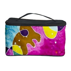 Fabric Rainbow Cosmetic Storage Case by Mariart