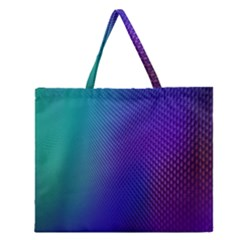 Galaxy Blue Purple Zipper Large Tote Bag by Mariart