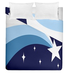 Star Gender Flags Duvet Cover Double Side (queen Size) by Mariart