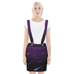 Starry Night Sky Meteor Stock Vectors Clipart Illustrations Braces Suspender Skirt by Mariart