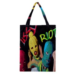 Pussy Riot Classic Tote Bag by Valentinaart