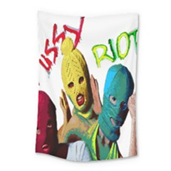 Pussy Riot Small Tapestry by Valentinaart