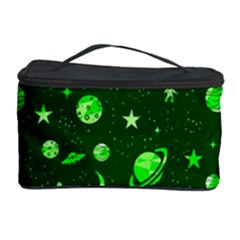 Space Pattern Cosmetic Storage Case by ValentinaDesign