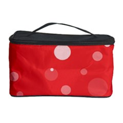 Decorative Dots Pattern Cosmetic Storage Case by ValentinaDesign
