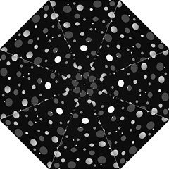 Decorative Dots Pattern Folding Umbrellas by ValentinaDesign