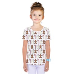 Christmas Trio Pattern Kids  One Piece Tee by Nexatart