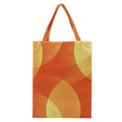 Abstract Orange Yellow Red Color Classic Tote Bag by Nexatart